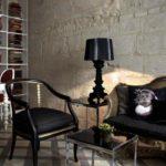 kartell-bourgie-lampe-transparent-noir
